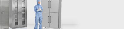 Cleanroom Garment Cabinet