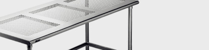 Perf Top Stainless Steel Cleanroom Table