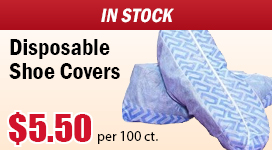 Disposable Cleanroom Shoe Covers In Stock