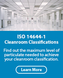 ISO 14644-1 Cleanroom Classifications