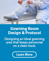 Gowning Room Design & Protocol