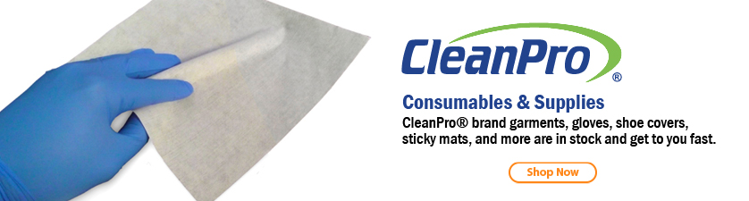 CleanPro® Cleanroom Consumables
